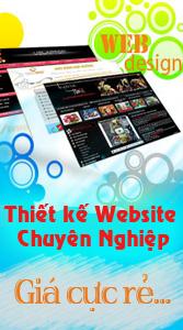 Thiết kế website chuyên nghiệp - giá cực rẻ
