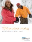 Catalog sản phẩm năm 2010