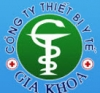 Logo Công ty cổ phần thiết bị y tế Gia Khoa