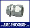 Đầu nối ống trơn EMT kẽm dạng xiết Nano Phước Thành® (NanoPhuocThanh® EMT Compression Zinc Box Connec
