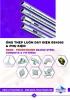 Ống thép luồn dây điện loại ren BS 4568 (Steel Conduit BS 4568)- SMARTUBE (Malaysia)
