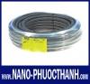 Ống ruột gà lõi thép bọc nhựa PVC dày Nano Phước Thành® (Nano Phước Thành® Liquid - Tight  Flexible M