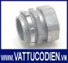 Đầu nối ống trơn EMT kẽm dạng xiết Nano Phước Thành® (NANO PHUOC THANH® EMT Compression Zinc Box Conn