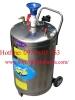 Bình tạo bọt tuyết rửa xe chất liệu Inox