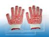 Găng tay phủ hạt nhựa Pro-Pro No2