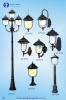 Trụ đèn trang trí sân vườn 8