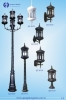 Trụ đèn trang trí sân vườn 11