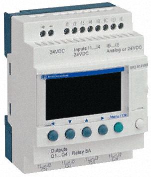 Sr2b121bd zelio logic smart relay compact with display