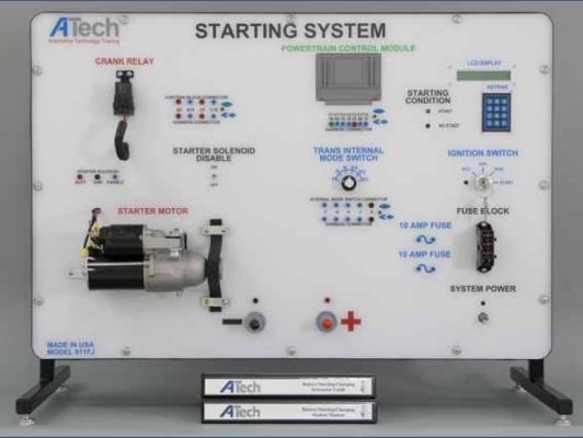 Bộ đào tạo hệ thống khởi động động cơ