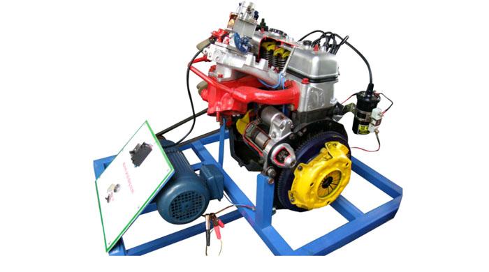 Mô hình động cơ ô tô cắt bổ