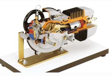 Mô hình động cơ xe gắn máy cắt bổ