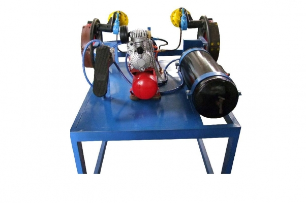 Mô hình hệ thống phanh khí nén