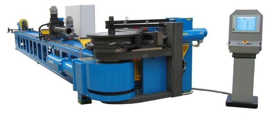 Máy uốn ống cnc dùng trong ngành đóng tàu