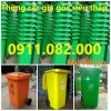 Cung cấp thùng rác 240 lít thùng rác nhựa giá rẻ