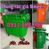 PP thùng rác 240 lít giá rẻ tại vĩnh long 0911082000