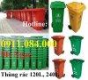 Sỉ lẻ thùng rác nhựa Sài Gòn 120L 240L