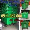 Bán thùng rác 660 lít giá rẻ tại hậu giang thùng rác