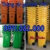 Thùng  rác 120 lít giá rẻ sóc trăng thùng rác nhựa