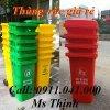 Thùng rác 120 lít thùng rác 240 lít xe thu gom rác
